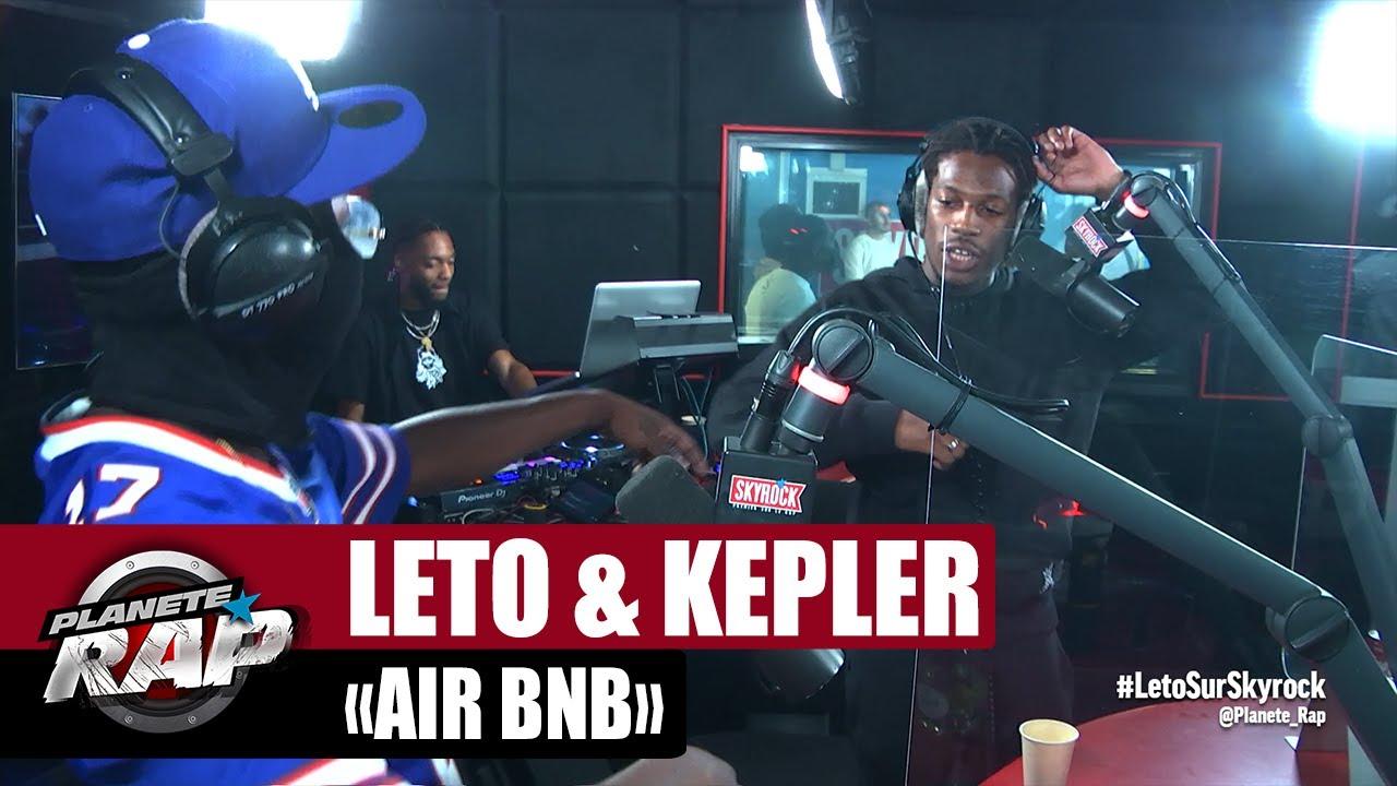 """[EXCLU] Leto feat. Kepler """"Air Bnb"""" #PlanèteRap"""