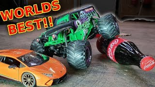 Worlds BEST Mini 1/24 RC Grave Digger Monster Jam Truck + Build Guide