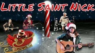 """""""Little Saint Nick"""" -- Beach Boys """"Christmas"""" cover with lyrics CC"""