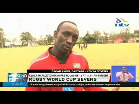 Kenya 7s  to face Tonga in pre-round of 16 tonight