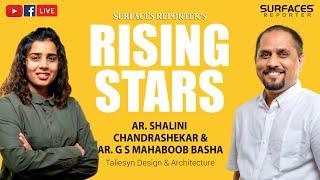 LIVE: SR Rising Star of the Month, Ar. Shalini Chandrashekar from Taliesyn