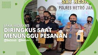 Jaka Hidayat Diringkus Polres Jakarta Utara saat Menunggu Pesanan Sabu