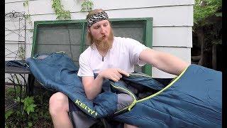 LONG Kelty Tuck 22 - BEST 3 Season Sleeping Bag For Tall People