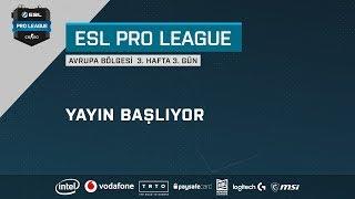 [TR] ESL Pro League Season 8 4. Hafta 2. Gün Maçları