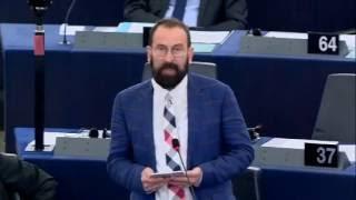 Szájer József beszéde az EP-ben – 2016.09.14.