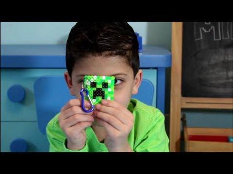 An Adorable Little Kid Walks Us Through A Minecraft Art Project