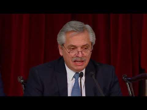 Video: El discurso de Fernández del inicio de sesiones en el Congreso