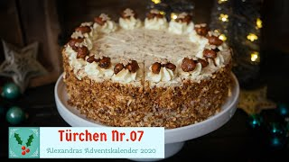 Gebrannte Mandel Torte / SCCC2020/ Türchen Nr.07 Adventskalender 2020