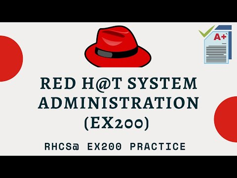 RHCSA Practice Exam || RHCSA 8.0 - YouTube