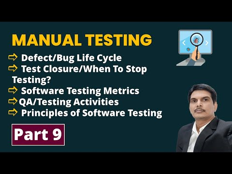 Manual Software Testing Training Part-9 | FREE YouTube Live ...