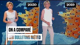 Canicule : On A Comparé La Météo Futuriste D'Evelyne Dhéliat En 2050 Avec Celle De 2019