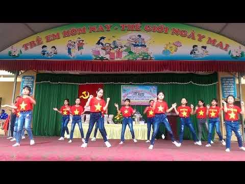 Dân vũ khối lớp B - Ngày hội văn hóa trường học TH Đồng Doãn Khuê