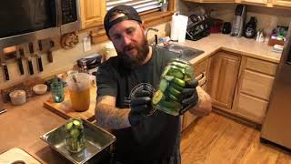"""Chef Chris Poole walks through how to make spicy """"El Jefe"""" Quick Pickles"""