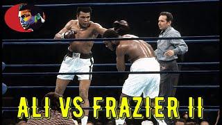 Muhammad Ali Vs Joe Frazier II #HIGHLIGHTS# HD