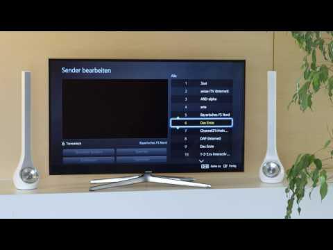 Samsung Smart TV Tutorial: Sender sortieren, Senderliste exportieren & importieren