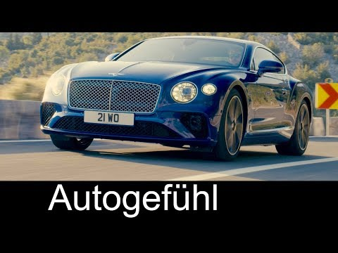 All-new Bentley Continental GT Preview Exterior/Interior feature 2018 – Autogefühl