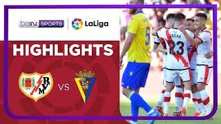 Rayo Vallecano 3-1 Cadiz Pekan 7