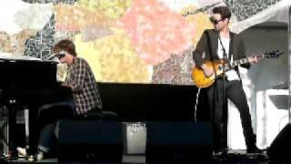 """Jon McLaughlin """"Promising Promises"""" New Song @ Mural Amphitheater 7/10/2011"""