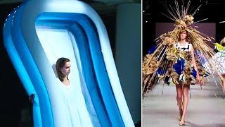 videos de risa fases cómicas en desfiles de moda