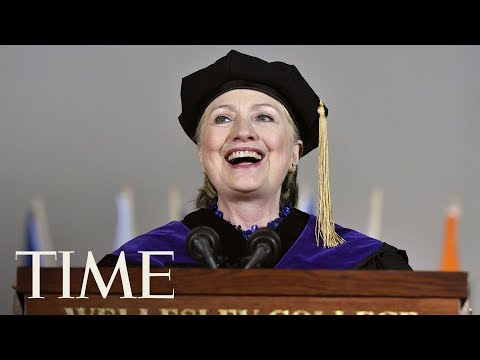 Hillary Clinton Threw Shade At President Trump At Wellesley's Graduation | TIME