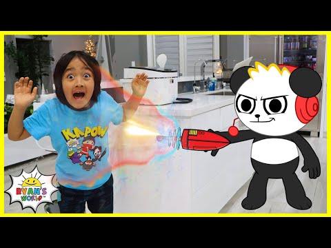 HOT VS COLD Challenge Ryan vs Daddy 1hr Kids Show