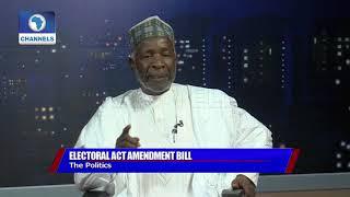 Electoral Amendment Bill: Galadima Says Buhari Govt Desperate, Keyamo Disagrees Pt.2