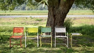 Thonet Launches Colourful Outdoor Versions Of Iconic Bauhaus Chairs