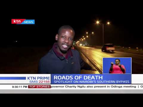 Motorists concerned as number of road accidents along Nairobi's southern by-pass increase