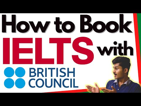 How to Book IELTS exam online in India British Council - YouTube
