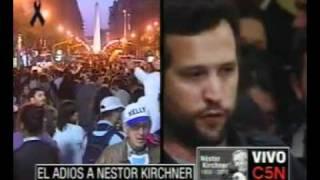 C5N ÚLTIMO ADIÓS A NÉSTOR KIRCHNER