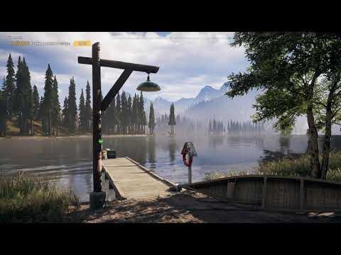 Прохождение Far Cry 5 на 100%. Коллекция # 1. Бочонки с виски (15 шт.). Река виски. Регион Веры.