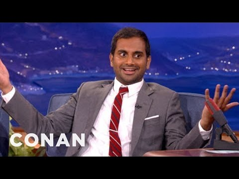 Aziz Ansari u Conana O'Briena