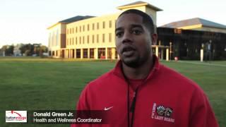 Staff Spotlight: Donald Green Jr., Health and Wellness Coordinator