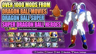 The Largest Modded Roster You Could Ever Wish For #2 - Dragon Ball Xenoverse 2 Mods