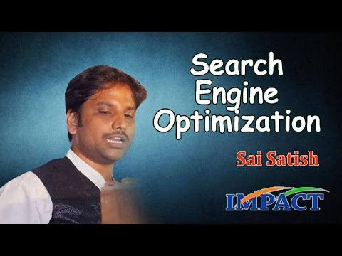 Website Build | Sai Satish |TELUGU IMPACT Hyd Apr 2017