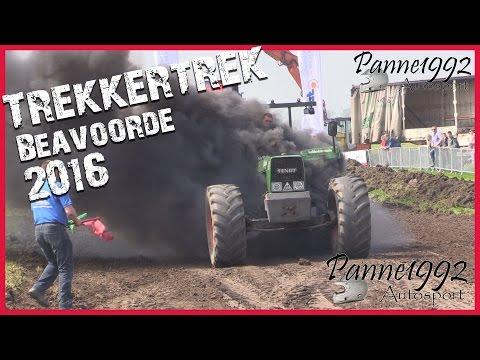 TrekkerTrek Beauvoorde 2016 - Tractorpulling [HD]