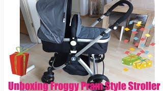 Unboxing Froggy Pram Style Stroller