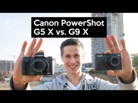 Canon PowerShot G5 X vs. Canon PowerShot G9 X   Praxistest   Review   Deutsch