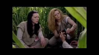 OITNB - 4X08 Alex, Nicky and Piper in the Corn field (Crack scene)