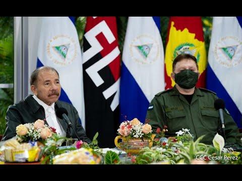 Presidente Daniel Ortega en el 41 aniversario de fundación de la Fuerza Aérea