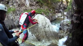 preview picture of video 'Barranco de Aguaslimpias, Sallent de Gállego. Pirineos'