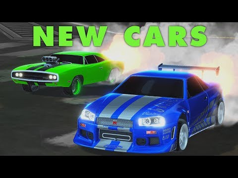 NEW CARS with LACHINIO (Rocket League)