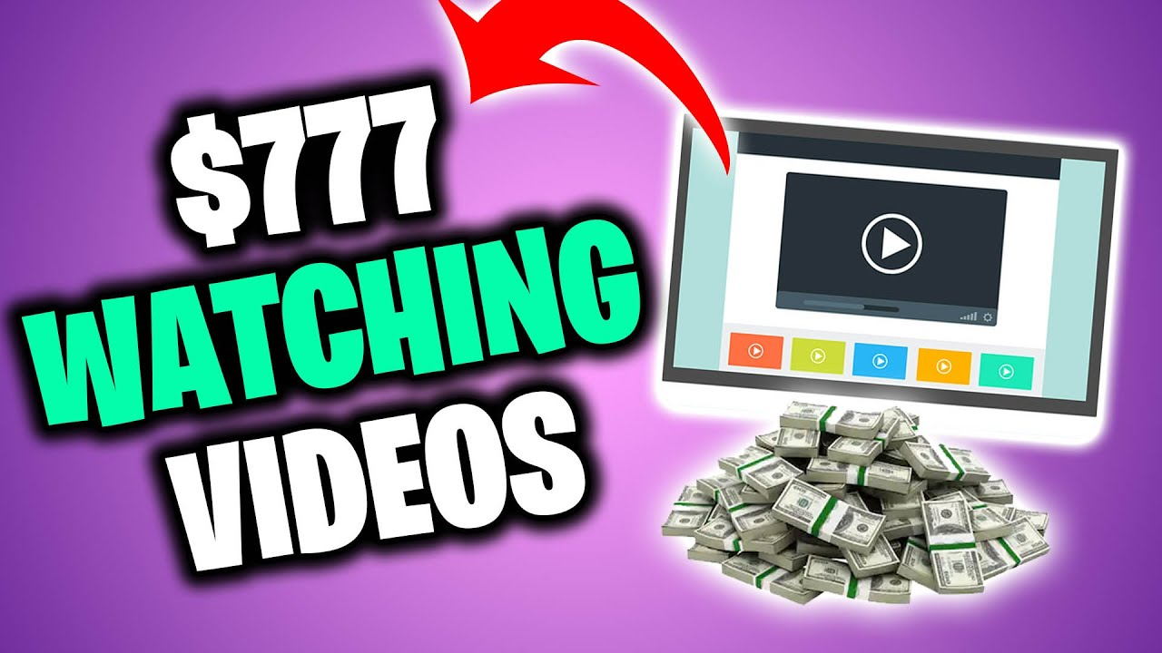 Make $777 On AUTO-PILOT WATCHING VIDEOS [NEW Earn Money Online Technique] thumbnail