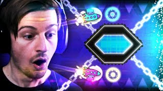 THE GEOMETRY DASH CURSE.. (These levels are getting insane)    Geometry Dash (Part 9)
