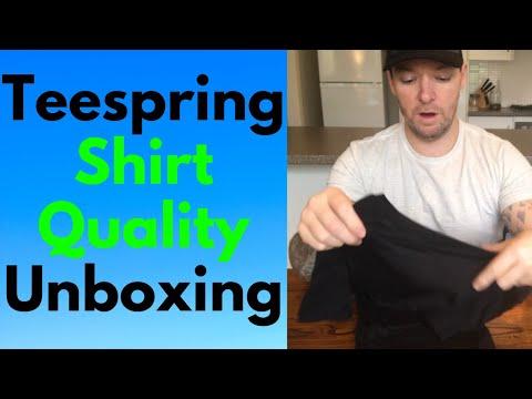 Teespring Shirt Quality Review