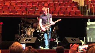 Jonny Lang Shermerhorn Sound Check playing 'We Are The Same'