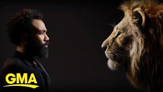 Sneak Peek Of The Making Of 'The Lion King' L GMA