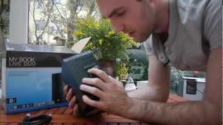 Western Digital My Book Live Duo im Unboxing [Deutsch]