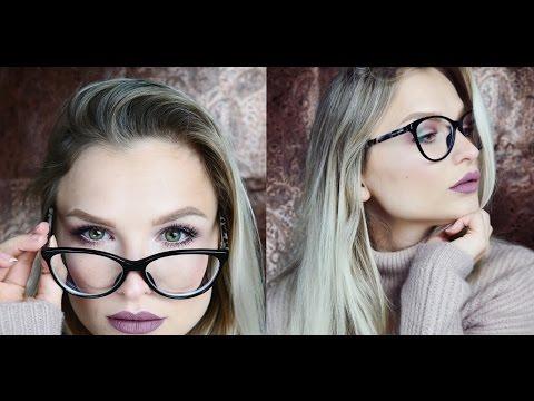 Brillen Makeup (kurzsichtig) - Fake Freckles, Augen größer schminken
