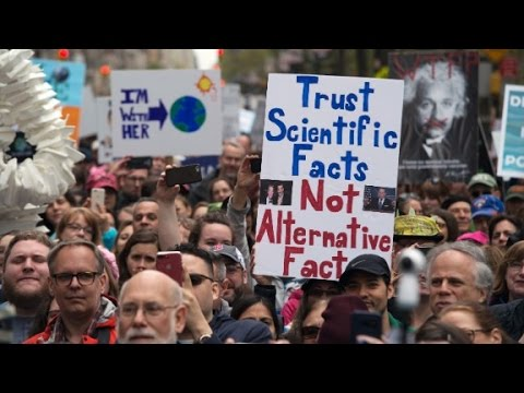 Protesters to Trump: Science matters